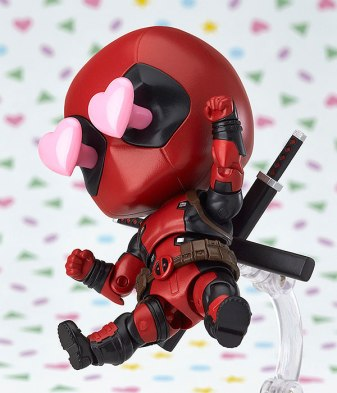 Deadpool Nendoroid figure - I Heart You