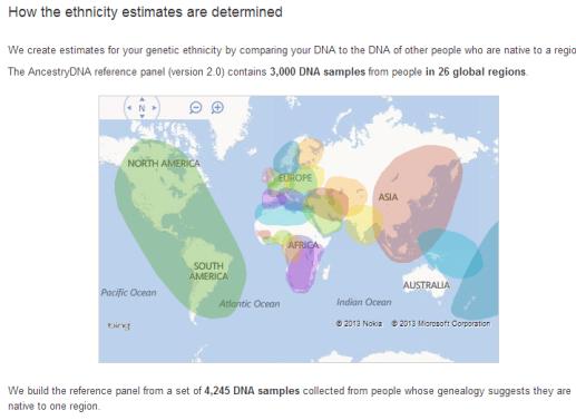 AncestryDNA Results 7