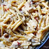One Pot Chicken Scampi Alfredo