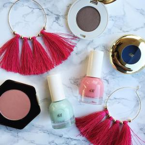 HampM finds 1 earrings amp 3 eye shadows blush andhellip