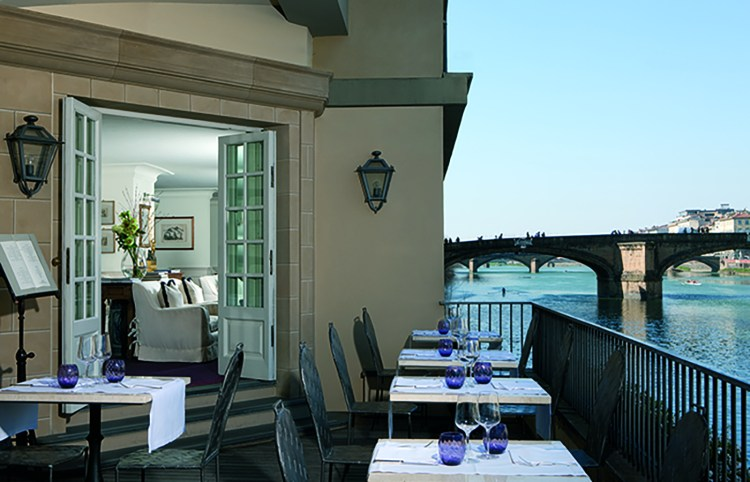 Front Cover.Sit out on the terrace at the Lungarno for breakfast and enjoy the views of the river