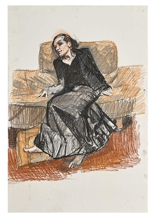 Story picture Paula Rego, Depression Series, Eleven, 2007, pastel on paper,
