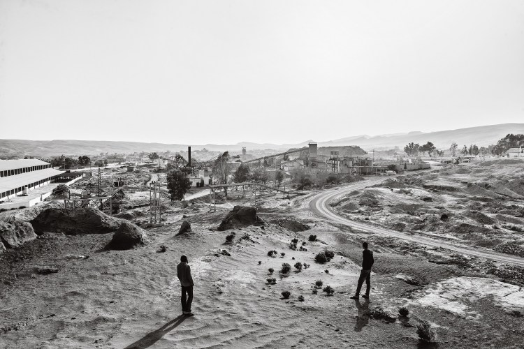 Zied Ben Romdhane, Site of phosphate processing, Redeyef, Tunisia, March 21, 2015, from the series West of Life Courtesy the artist