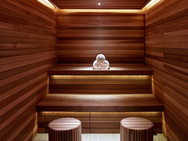The Spa at The Joule Sauna (Photo Credit - Eric Laignel)