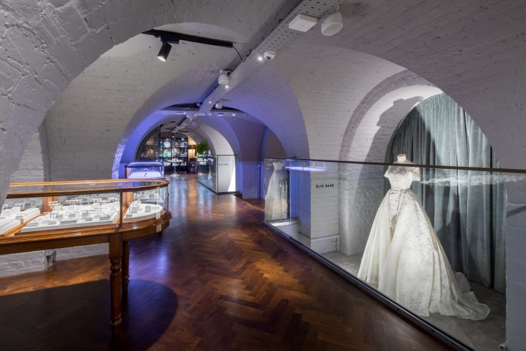 Mezzanine floor at The Wedding Gallery