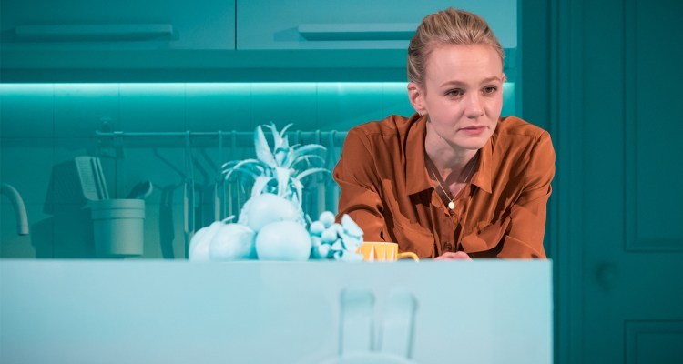 Carey Mulligan in Girls and Boys at the Royal Court, London