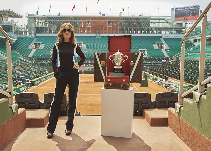 Louis Vuitton and Roland-Garros Isabelle Huppert