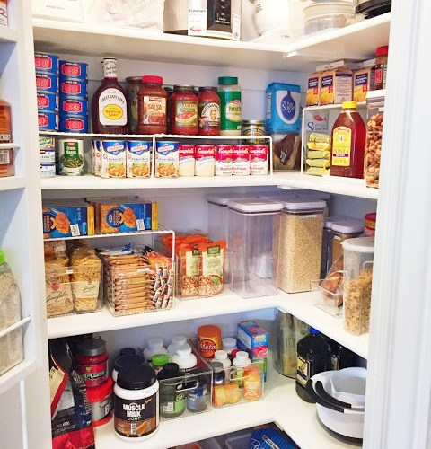 Tips on organizing your pantry and other spaces