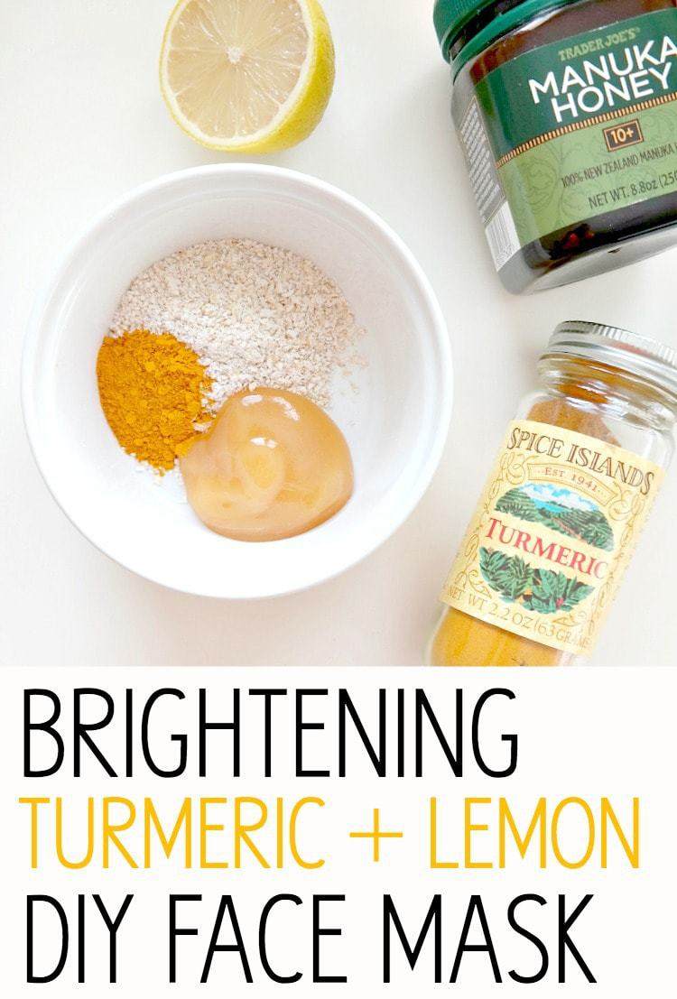 DIY Face Mask. With beautifying turmeric and healing manuka honey ...