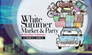 White Summer Market & Party Pals TheGoldenStyle The Golden Style