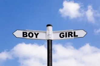 Boy Girl Sign