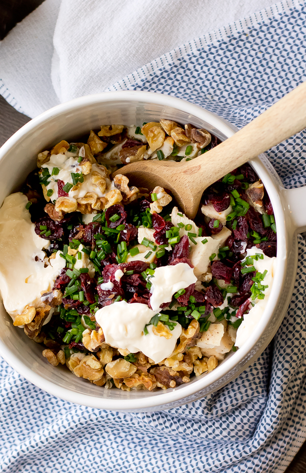 ... poetic about this cranberry walnut chicken salad sandwiches recipe