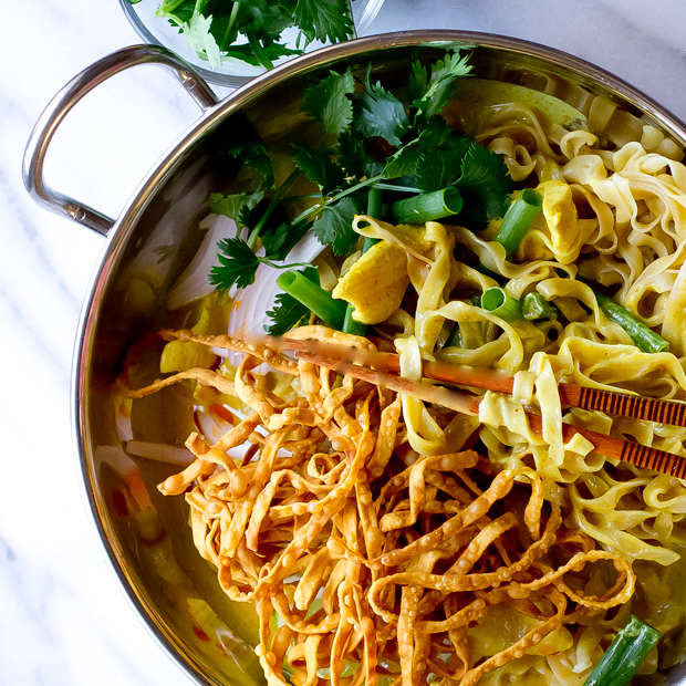 Khao Soi Curry Noodles - The Gourmet Gourmand