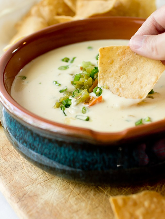 IPA Queso Blanco with Hatch Chiles