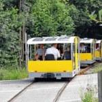 Trem é movido a pedaladas e energia solar na  Europa