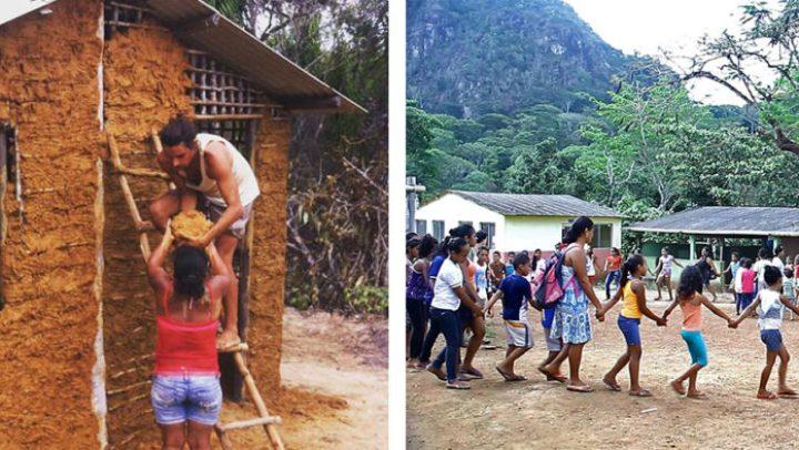Casal mora em Kombi promovendo atividades em comunidades tradicionais – e você pode fazer parte disso!