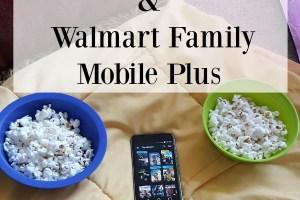Family Movie Night & Walmart Family Mobile Plus