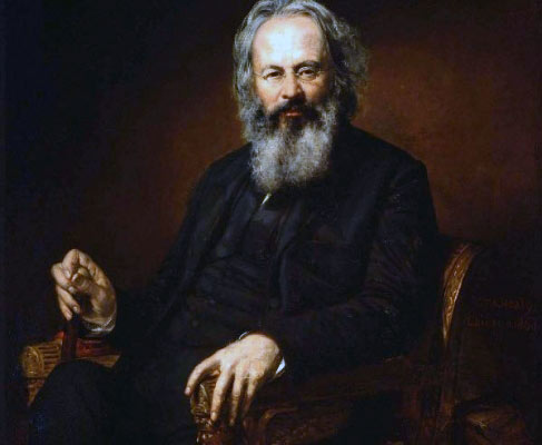 "Orestes Brownson (1803–1876), New England public-spirited intellectual. ""Catholics are better fitted by their religion to comprehend the real character of the American constitution than any other class of Americans."""