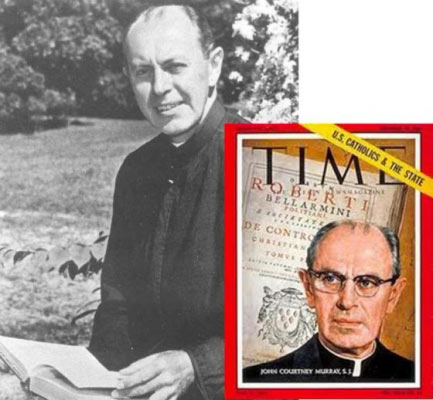 "John Courtney Murray (1904-1967), New York Jesuit theologian. ""America has raised the standard of living to historically unknown heights. …We have multiplied our needs endlessly and thereby multiplied our sorrows."""