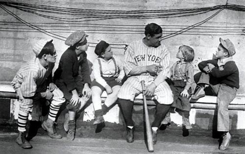 """Babe Ruth: George Herman Ruth, Jr. (1895-1948), was a Knight of Columbus and one of the greatest baseball players and sports heroes in U.S. history. """"I like being Catholic,"""" he said. """"It sets a standard by which I can measure myself."""""""
