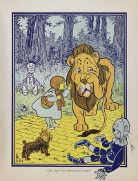 One of W.W. Denslow's illustrations for the first edition of The Wonderful Wizard of Oz