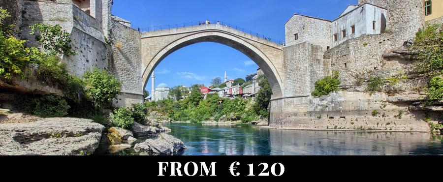 Split - Mostar - Ston - Dubrovnik