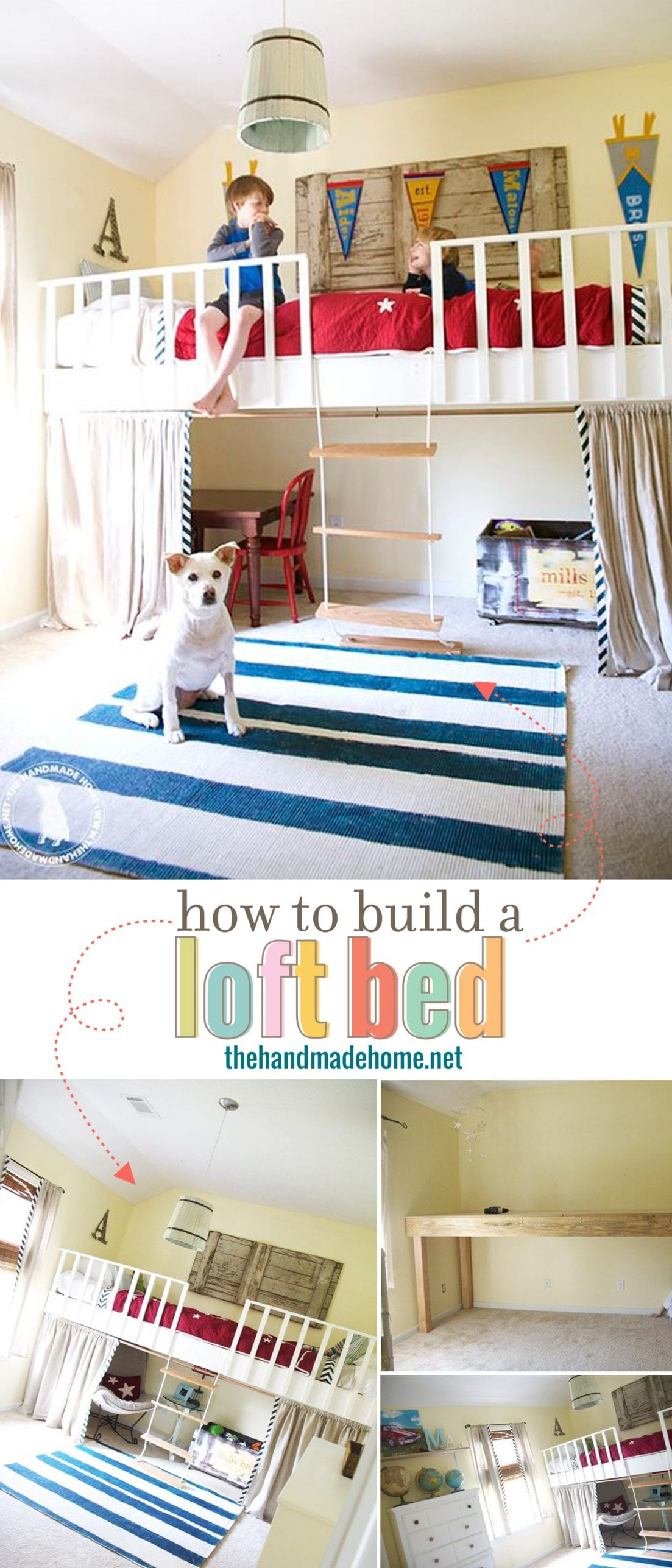 Bodacious How To Build A Loft Bed How To Build A Loft Bed Storage How To Build A Loft Bed From Pallets Stairs houzz 01 How To Build A Loft Bed