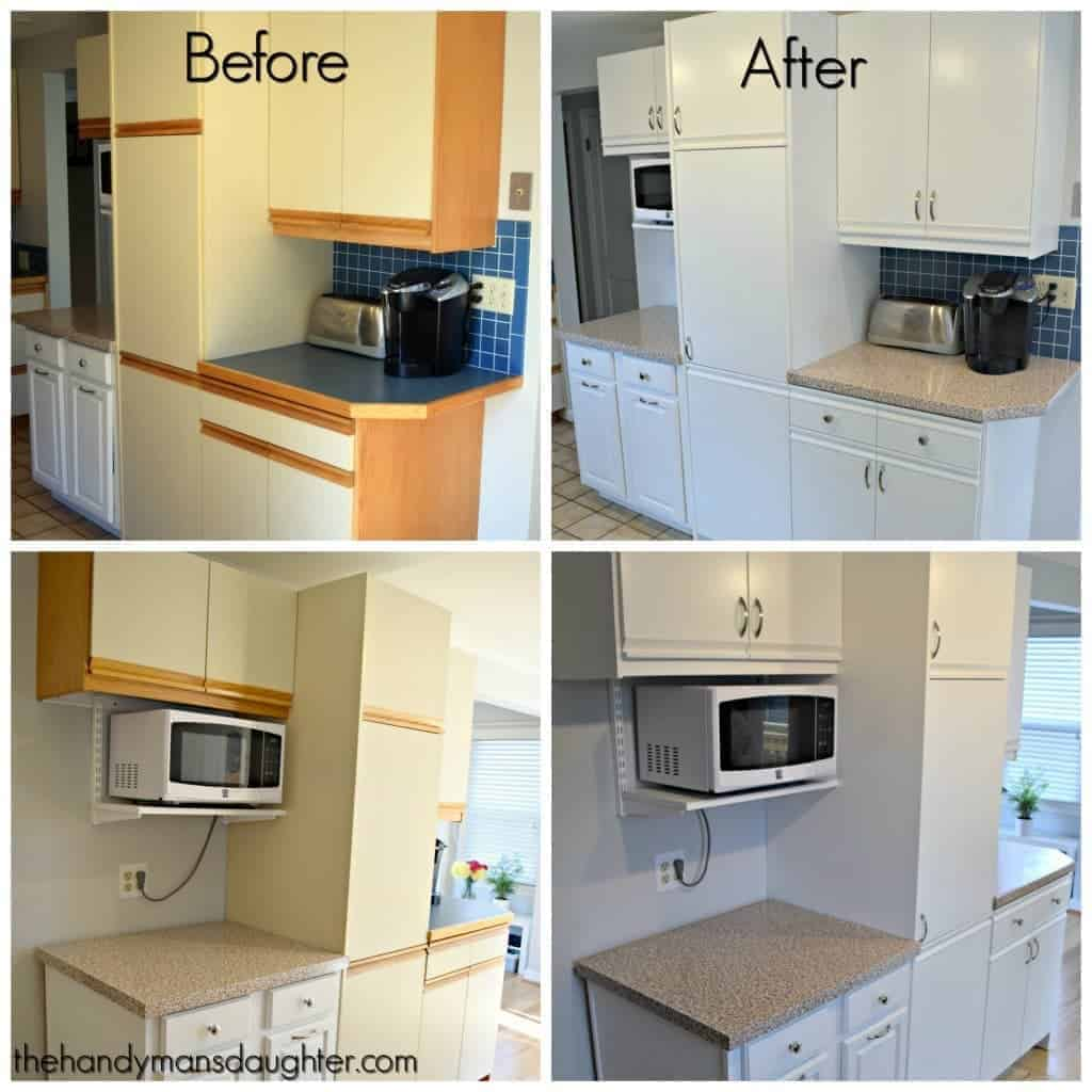 tips for updating 80s kitchen cabinets kitchen cabinet updates These 80 s cabinets with oak trim are the worst Give them an update with paint