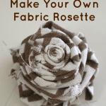 Make Fabric Rosette