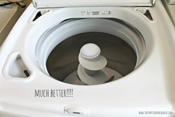 Washing Machine Inside ~ How to clean a top load washing machine the happier