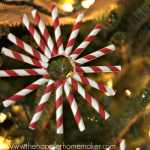 paper straw ornament