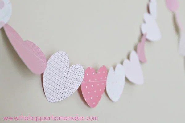 how to sew paper garland