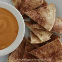 Pumpkin Pie Dip with Cinnamon Sugar Chips