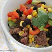 Easy Weekday Dinner: Chipotle Burrito Bowl Recipe