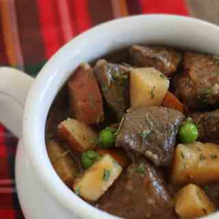 This hearty slow cooker beef stew is the perfect comfort food to get you through the long winter!