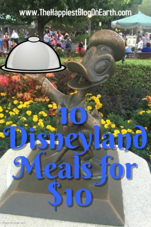 10 Disneyland Meals for $10