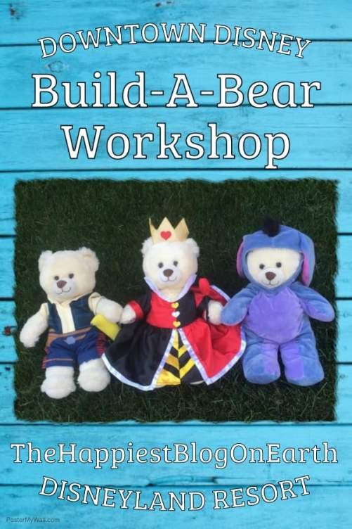 Build the perfect Disneyland souvenir at Build-A-Bear Downtown Disney.