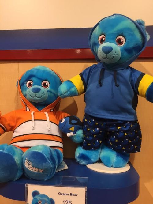 Limited edition Disney themed Build-A-Bears available at The Disneyland Resort.