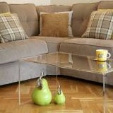 Clearly a smart choice – Perspex coffee tables
