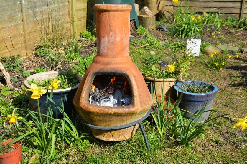 clay fire pot