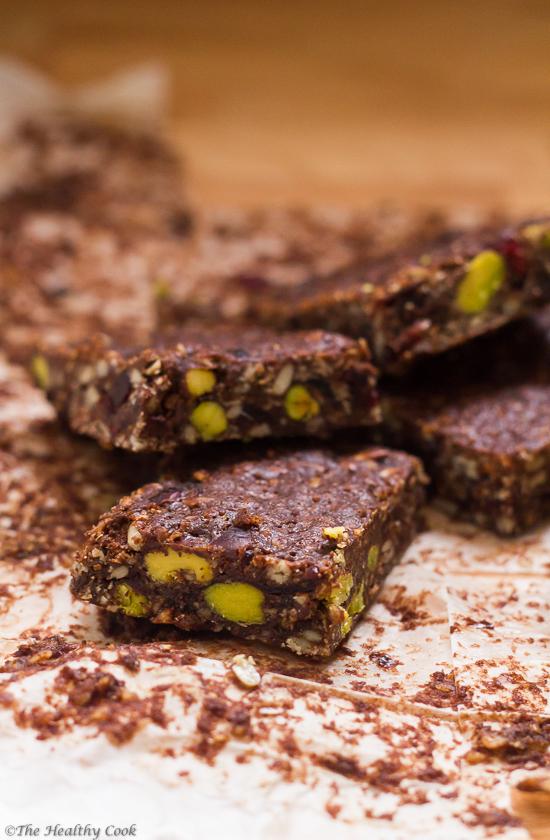 Chocolate Granola Bars - Μπάρες Δημητριακών με Σοκολάτα