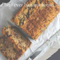 The Best Ever Banana Bread {Gluten-Free & Vegan}