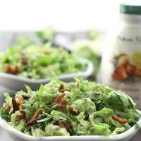 Bacon and Brussels Sprout Caesar Slaw