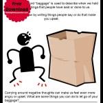 Emotional Baggage – Free Printable
