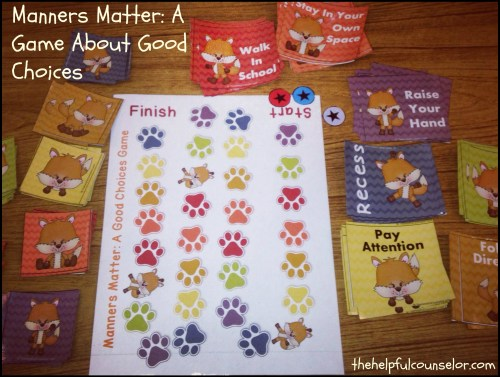 Manners Matter - A Good Choices Game