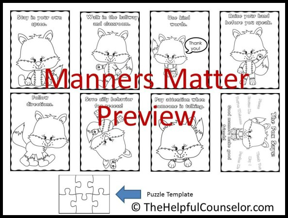 teaching children manners coloring pages
