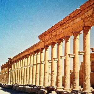 tbt The Great Colonnade Palmyra Syria In 2001 I spenthellip