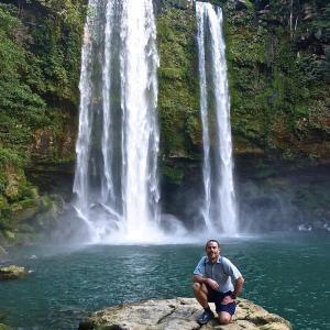 waterfallwednesday Misolha Chiapas Mexico 2014 thehikinglife