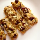 Chewy Almond & Cranberry  Granola Bars