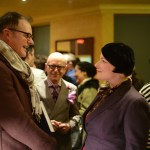 Ryerson University School of Fashion Chair Robert Ott with Rose.